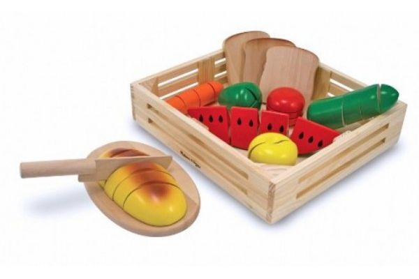 Dodatki MELISSA AND DOUG Hrana za rezanje, Melissa and Doug 10487