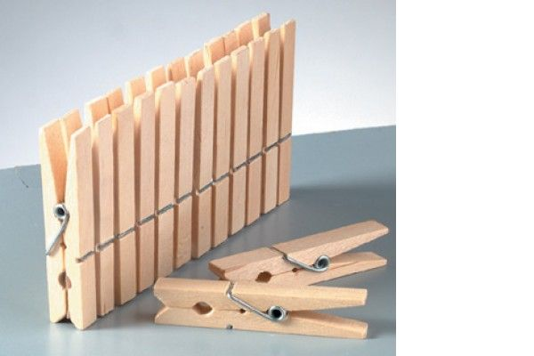 ustvarjalni material EFCO Kljukica za perilo, 72 mm, 1 kos, Efco H14 024 03