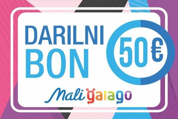 DARILNI BONI MALI GALAGO Darilni bon Mali Galago, Vrednost 50 EUR