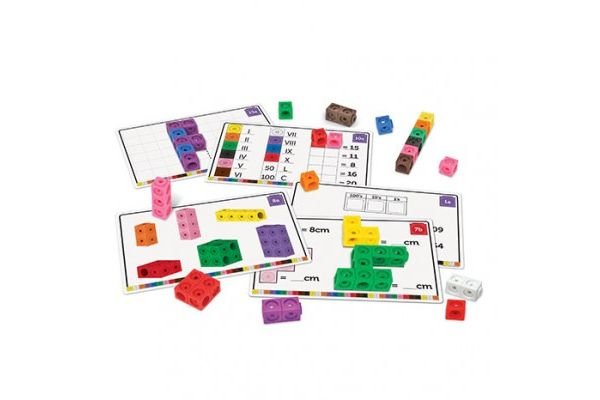 matematika LEARNING RESOURCES KOMPLET LINK KOCK, Learning Resources LSP4299UK
