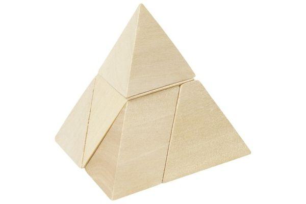 geometrija GOKI MINI SESTAVLJANKA - PIRAMIDA, Goki HS108