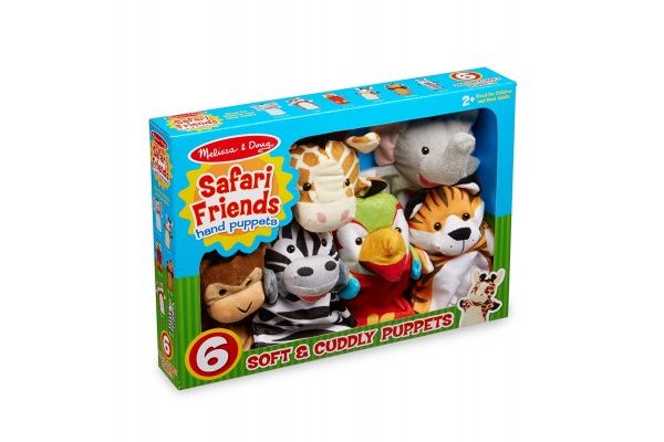 ročne MELISSA AND DOUG SET ROČNIH LUTK SAFARI, Melissa and Doug