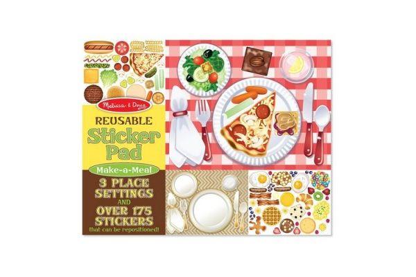 nalepke MELISSA & DOUG Nalepke pripravi obrok, Melissa & Doug 14193