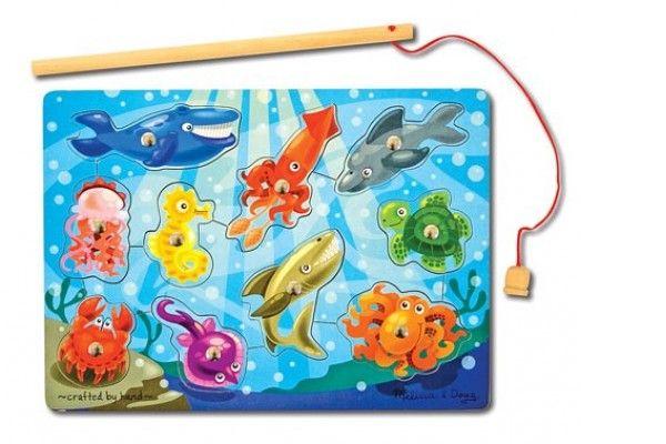 SESTAVLJANKE MELISSA AND DOUG Sestavljanka ribolov, Melissa and Doug 13778