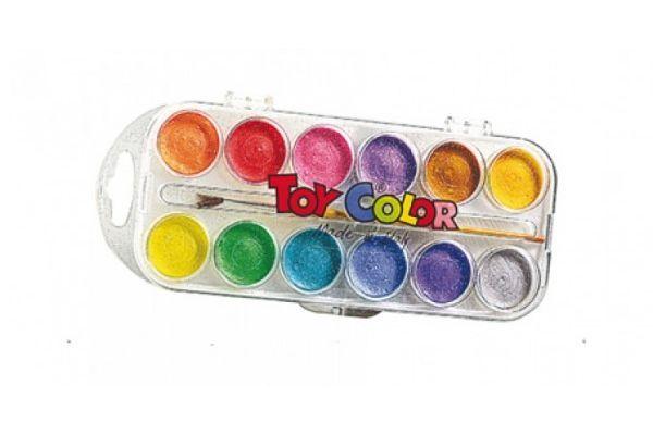 barve in barvice TOY COLOR Vodene biserne barve, Toy Color