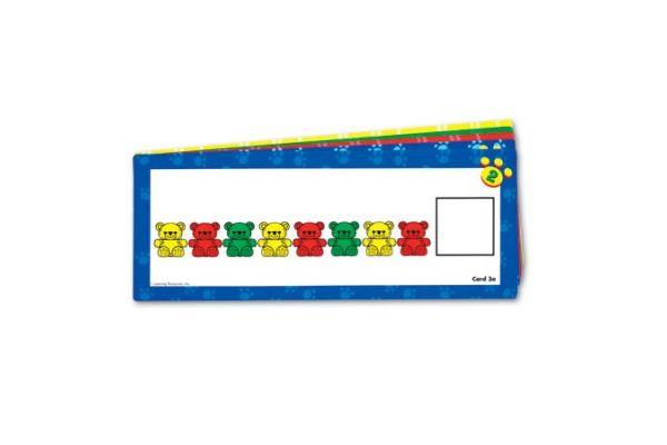 UČNI PRIPOMOČKI LEARNING RESOURCES Vzorčne kartice za medvedke, LER0753