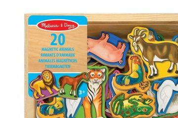 razno MELISSA AND DOUG Magnetne lesene živali, Melissa and Doug 10475