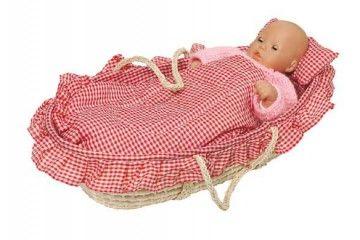 HIŠICE IN DODATKI GOKI Košara za dojenčka, Goki 15252