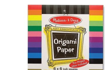 papir za ustvarjanje MELISSA AND DOUG Origami papir, Melissa and Doug 14129