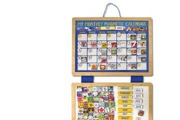 praktično življenje MELISSA AND DOUG Magnetni koledar, Melissa and Doug 13788