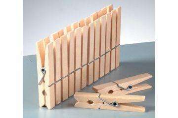 ustvarjalni material EFCO Kljukice za perilo, 45 mm, 24 kosov, Efco H14 024 02
