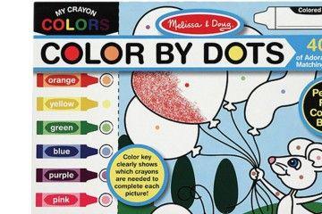 pobarvanke MELISSA AND DOUG Pobarvanka z barvnimi pikami, Melissa and Doug 14006