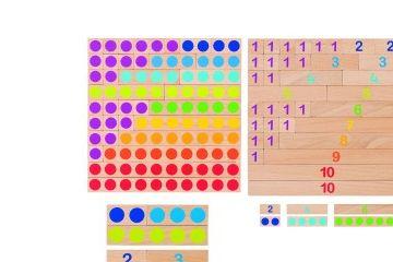 matematika GOKI Lesene matematične palčke, Goki 58535