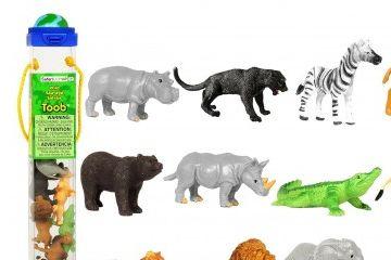 ŽIVALICE SAFARI LTD Komplet divjih živali, Safari Ltd., 695004