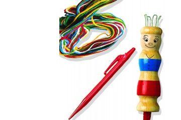 kompleti za ročne spretnosti SES Komplet za francosko pletenje, Ses, 00862