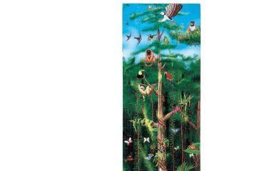 sestavljanke MELISSA AND DOUG Talna sestavljanka deževni gozd, 100 kos, Melissa and Doug 10444