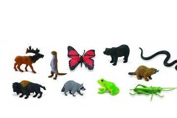 naravoslovje SAFARI LTD Figurice, živali v gozdu, Safari Ltd 685504