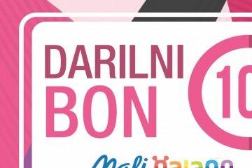 DARILNI BONI MALI GALAGO Darilni bon Mali Galago, Vrednost 10 EUR