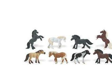 naravoslovje SAFARI LTD Figurice, Poniji, Safari, 681104