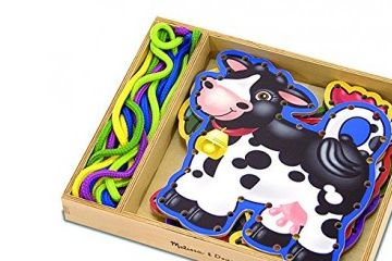 fina motorika MELISSA AND DOUG PRETIKANKA, domače živali, Melissa and Doug, 13781