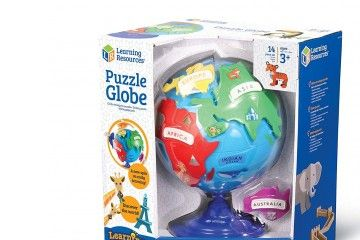 DIDAKTIČNE IGRAČE LEARNING RESOURCES GLOBUS sestavljanka, Learning Resources, LER7735