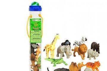 naravoslovje SAFARI LTD Komplet divjih živali, Safari Ltd., 695004