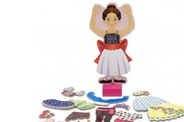 MAGNETNE IGRE MELISSA AND DOUG OBLEČI ME - BALERINA NINA, Melissa and Doug, 13554