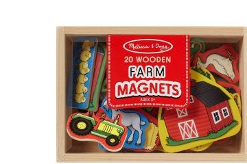 MAGNETNE IGRE MELISSA AND DOUG LESENI MAGNETI KMETIJA, Melissa and Doug, 19279