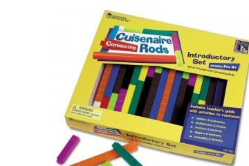 DIDAKTIČNI MATERIAL SEMINAR MATEMATIK LEARNING RESOURCES CUISENAROVE PALČKE - plastične, Learning Resources, LER7480