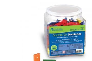 DIDAKTIČNI MATERIAL SEMINAR MATEMATIK LEARNING RESOURCES Veliki set DOMIN, Learning Resources LER 0287