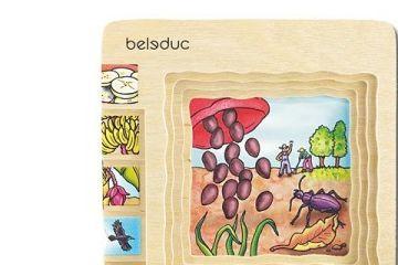 večplastne sestavljanke BELEDUC Sestavljanka banana, Beleduc 17049