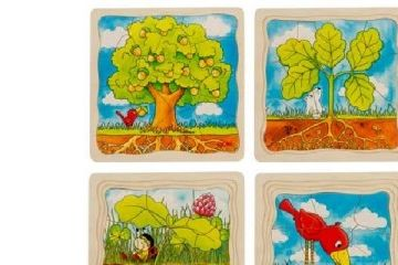 večplastne sestavljanke GOKI Večplastna sestavljanka drevo, Goki 57522