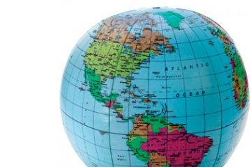 vesolje LEARNING RESOURCES Napihljiv globus, Learning Resources 2432