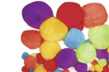 ustvarjalni material URSUS Komplet barvnih cofkov, Ursus B39500002