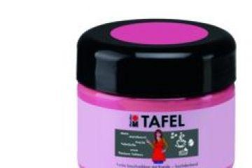 barve in barvice MARABU Barva za tablo Tafel 225ml, rožnata, Marabu 025925132