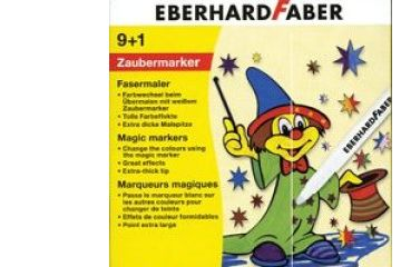 barve in barvice  EBERHARD FABER Magic Markers, 10 flomastrov, Eberhard Faber 55 10 10