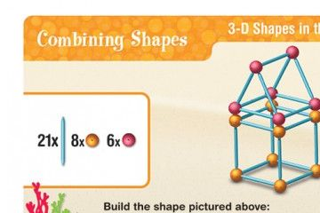 matematika LEARNING RESOURCES Izdelaj geometrijske like, Learning Resources LER1773