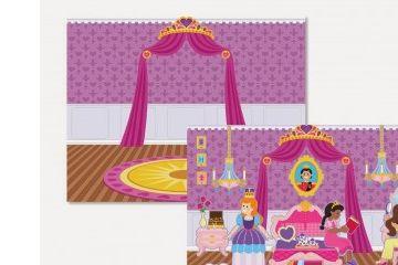 nalepke MELISSA AND DOUG Nalepke za večkratno uporabo, princeske, Melissa and Doug 14306