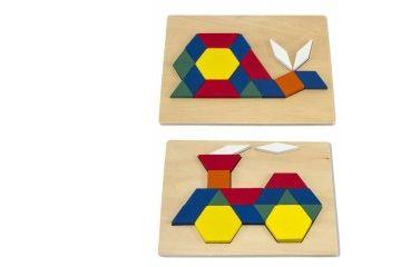 sestavljanje oblik MELISSA AND DOUG Vzorčenje geometrijskih likov, Melissa and Doug 10029