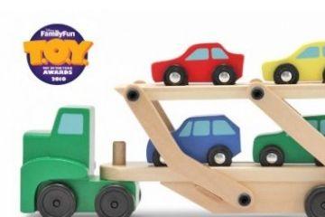 Kategorija 1 MELISSA AND DOUG Tovornjak za avtomobile, Melissa and Doug 14096