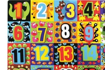 matematika MELISSA AND DOUG Sestavljanka števila do 20, Melissa and Doug 13832