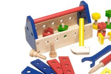 MELISSA AND DOUG Škatla z orodjem, Melissa and Doug 10494