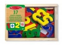 matematika MELISSA AND DOUG Magnetne lesene številke, Melissa and Doug 10449