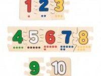 matematika GOKI Sestavljanka števila od 1 do 10, Goki WB013