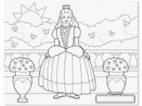 pobarvanke MELISSA AND DOUG Velika pobarvanka za deklice, Melissa and Doug, 14225
