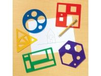 matematika LEARNING RESOURCES Geometrične šablone, Learning resources, LER 5440