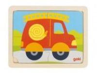 večplastne sestavljanke GOKI Sestavljanka gasilski avto, Goki, 57487