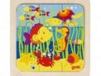 večplastne sestavljanke GOKI Sestavljanka morsko življenje, Goki, 57499
