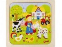 večplastne sestavljanke GOKI Sestavljanka farma, Goki, 57499