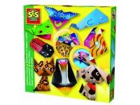 ustvarjalni seti SES Origami, živali, SES Creative, 14807